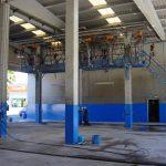 Vista interior planta de lavado y vaporizado